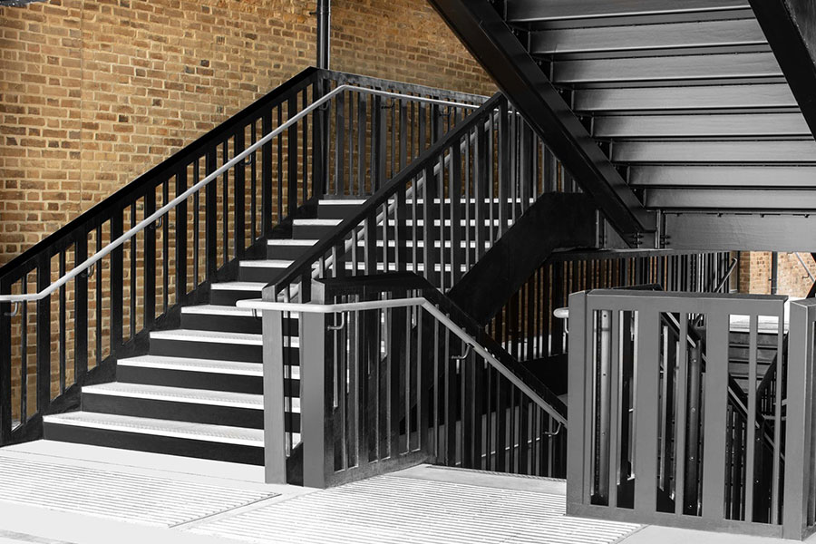 Balcony & Stairs Project Completed At Camden Lock London