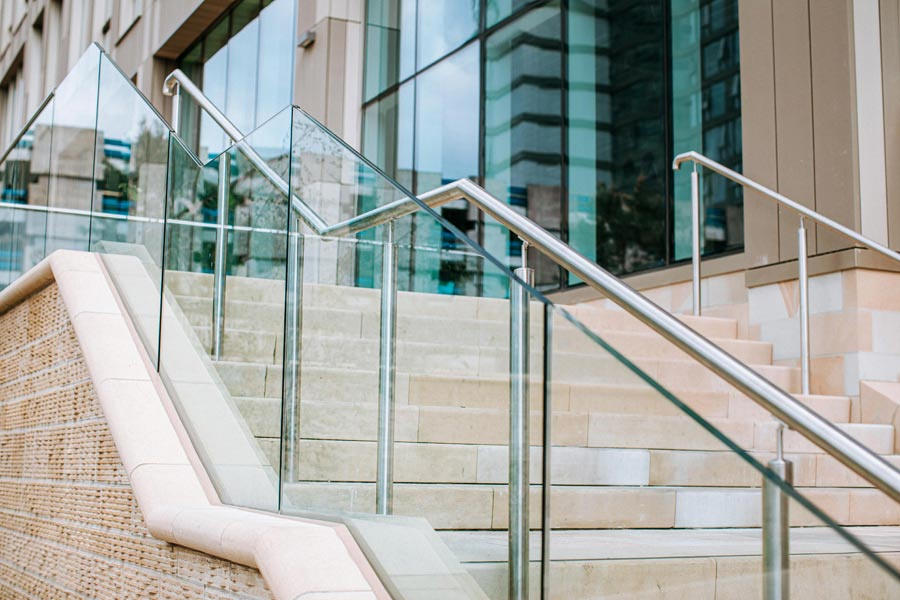 Balustrade & Stairs Project Completed At The Cavendish Building