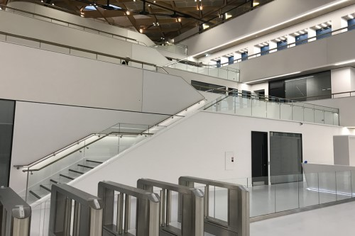 January 2020 - Balustrades & Secondary Steelwork Project For JLR Developments