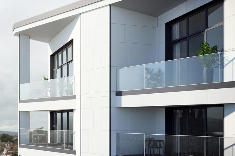 February 2021 - UK's First NHBC Approved Fire Rated Structural Glass Balustrade Installation