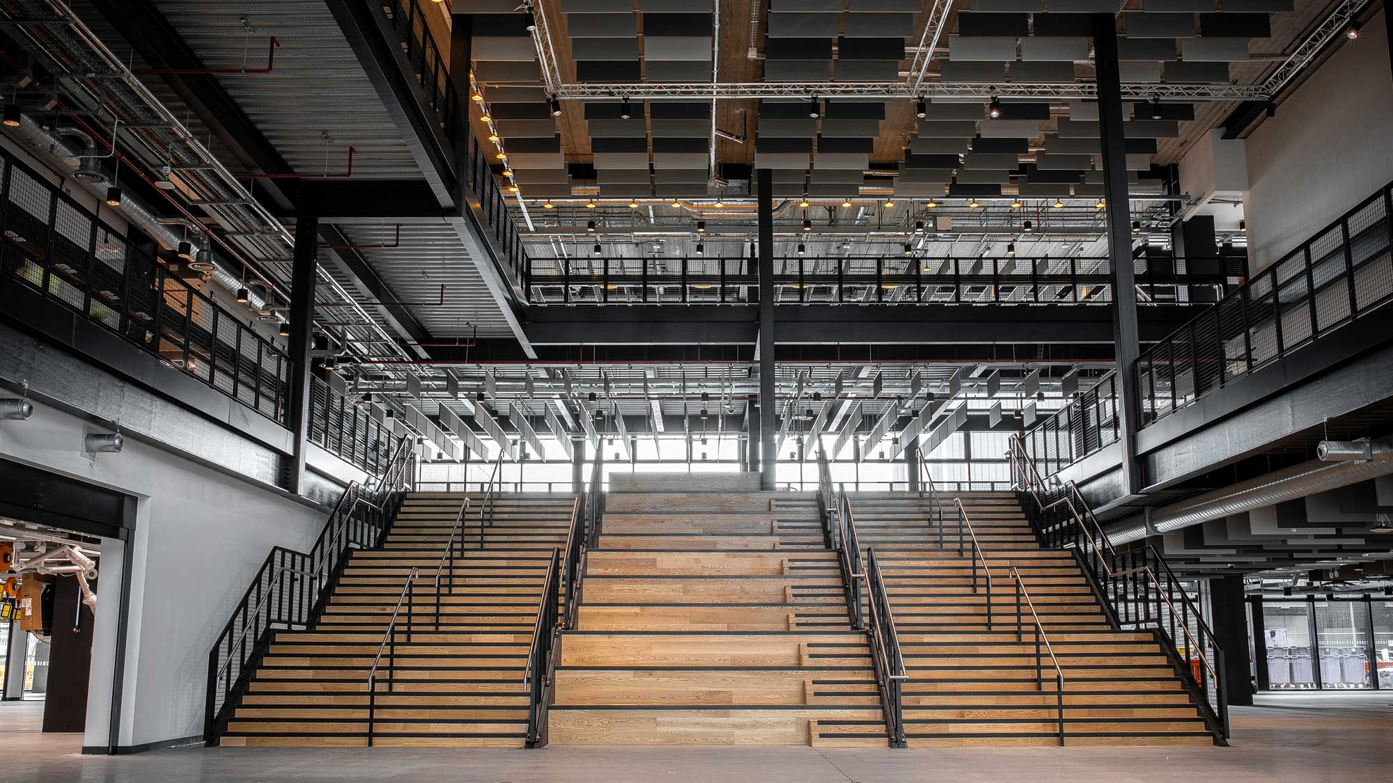 Stairs & Structural Steelwork Project - Manchester Engineering Campus Development (MECD)